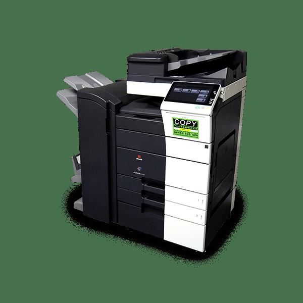 standing olivetti photocopier