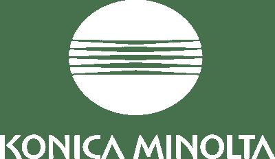 Konica Minolta white logo