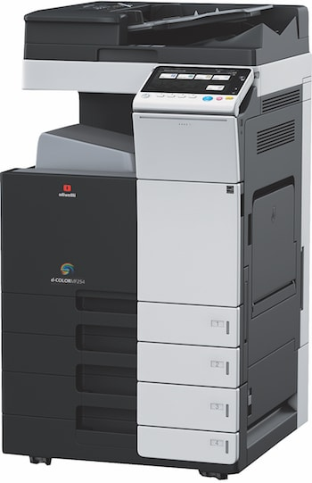 Standing Olivetti MF 254 Multi function printer