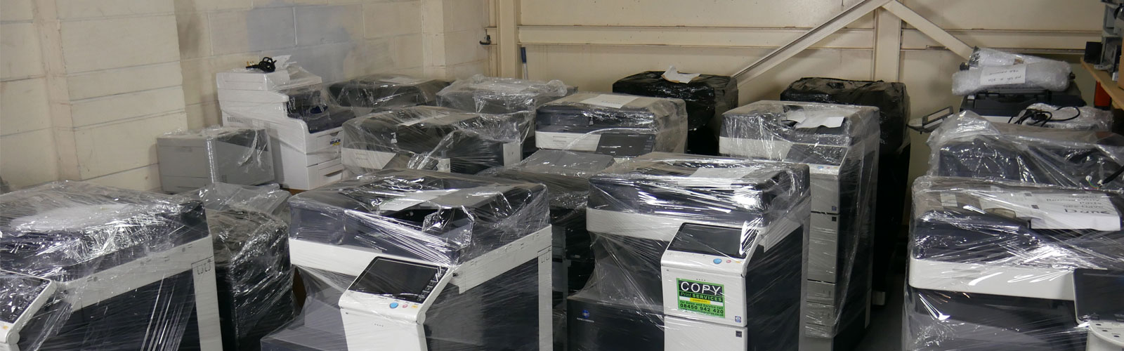 packed refurbished copiers for sale