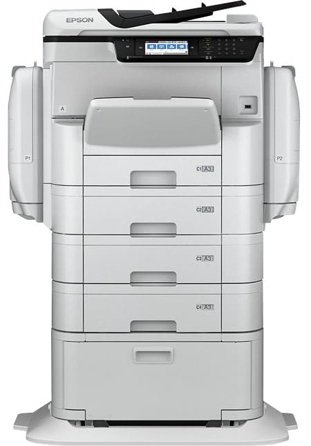 The WF-C869R multifunction business inkjet printer